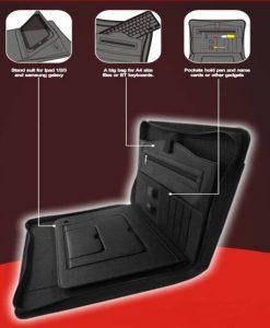 "8WD-BS003-8Ware Busines Tablet Folio10"" Tablets Folder&Bluetooth kb"