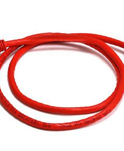 PL6A-0.5RD-8Ware Cat6a UTP Ethernet Cable 0.5m (50cm) Snagless Red