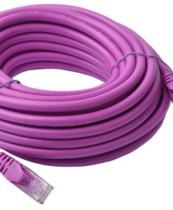 PL6A-10PUR-8Ware Cat6a UTP Ethernet Cable 10m Snagless Purple