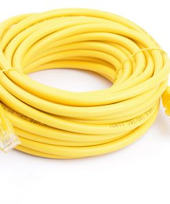 PL6A-10YEL-8Ware Cat6a UTP Ethernet Cable 10m SnaglessYellow