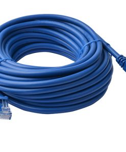 PL6A-15BLU-8Ware Cat6a UTP Ethernet Cable 15m Snagless Blue