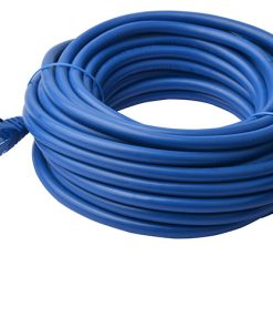 PL6A-40BLU-8Ware Cat6a UTP Ethernet Cable 40m Snagless Blue