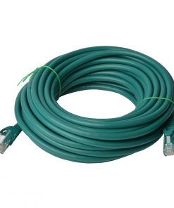 PL6A-40GRN-8Ware Cat6a UTP Ethernet Cable 40m Snagless Green