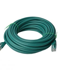 PL6A-50GRN-8Ware Cat6a UTP Ethernet Cable 50m SnaglessGreen