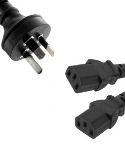 RC-3078C7-OEM-8Ware 2 Core Light Power Cable 1.8m AU Mains to IEC C7 240v Appliance -Wall Duty Appliance OEM