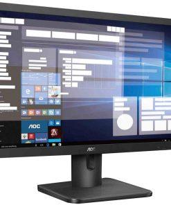 "20E1H/75-AOC 19.5"" 5ms 1600 x 900 Business Monitor - HDM1.4/VGA Tilt VESA100mm Low Blue Mode Flicker Free"