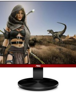 "G2590VXQ/75-AOC 24.5"" 1ms 75Hz Full HD FreeSync Frameless Gaming Monitor - DP/HDMI/VGA Speaker Tilt VESA100mm Black & Red"
