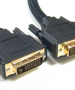 AT-DVID-MM-2M-Astrotek DVI-D Cable 2m - 24+1 pins Male to Male Dual Link 30AWG OD8.6mm Gold Plated RoHS~CB8W-DVI-DD2