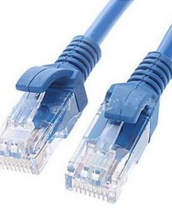 AT-RJ45BL-1M-Astrotek CAT5e Cable 1m - Blue Color Premium RJ45 Ethernet Network LAN UTP Patch Cord 26AWG