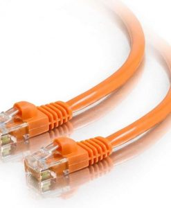 AT-RJ45OR6-0.25M-Astrotek CAT6 Cable 0.25m/25cm - Orange Color Premium RJ45 Ethernet Network LAN UTP Patch Cord 26AWG-CCA PVC Jacket