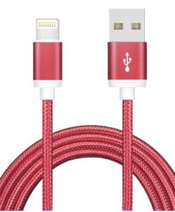 AT-USBLIGHTNINGR-3M-Astrotek 3m USB Lightning Data Sync Charger Red Color Cable for iPhone 7S 7 Plus 6S 6 Plus 5 5S iPad Air Mini iPod