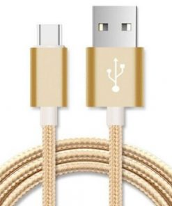 AT-USBMICROBG-1M-Astrotek 1m Micro USB Data Sync Charger Cable Cord Gold Color for Samsung HTC Motorola Nokia Kndle Android Phone Tablet  Devices