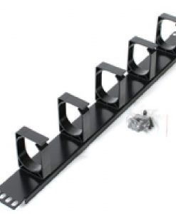 ATP-CM1U-M-Astrotek 1U Rack Mount Cable Management Metal Panel