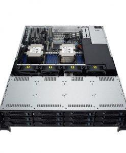 90SF0051-M00240-ASUS RS520-E9-RS12-E 2U Barebone Rackmont Server LGA3647 Aspeed AST2500 800W PSU