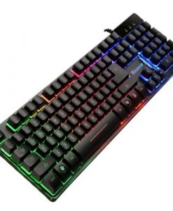 Cerberus Mech RGB/RED-ASUS Cerberus Mech RGB/RED mechanical gaming keyboard with RGB backlit effects dedicated hot keys