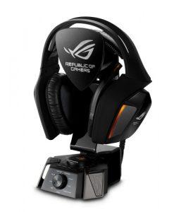 ROG 7.1 (ROG Centurion)-ASUS ROG 7.1 (ROG Centurion) gaming headset True7.1 Noise-cancelling digital microphone Hi-Fi grade ESS headphone amplifier