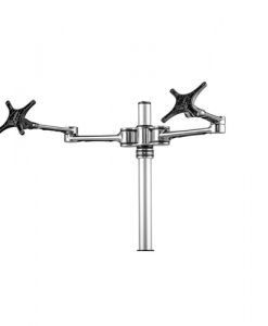 AF-AT-D-P-Atdec Double Arm Desktop Monitor Mount Polished