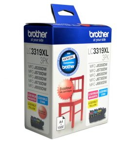 LC-3319XL-3PK-Brother LC-3319XL  Colour Value Pack 1X Cyan 1X Magenta 1X Yellow-MFC-J5330DW/J5730DW/J6530DW/J6730DW/J6930DW - up to 3000 P