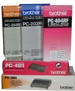 PC402RF-Brother PC402RF Refill Rolls 2 x Thermal Refill Rolls