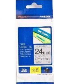 TZE-M951-Brother 24mm Black on Silver MATT TZE Tape