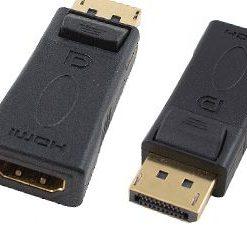 HADDPMHDMIF-Cabac Display Port Male to HDMI Female Adaptor LS