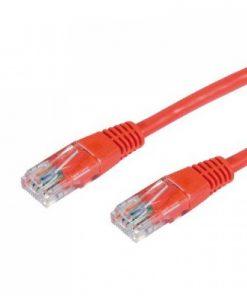 HCAT5ERD0.5-Hypertec 0.5m CAT5 RJ45 LAN Ethenet Network Red Patch Lead (LS)