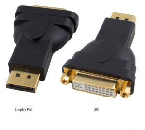 HDPMDVIF-Hypertec Display Port M to DVI F Male to Femal 1.1a compliant