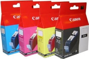 BCI-3EM-Canon BCI3EM Magenta Ink Cart for BJC3000