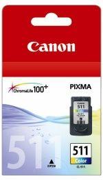 CL511-Canon CL511 FINE Colour Std Yl Suits MP240