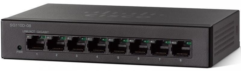 SG110D-08-AU-Cisco SG110D-08 8 Port Gigabit Switch