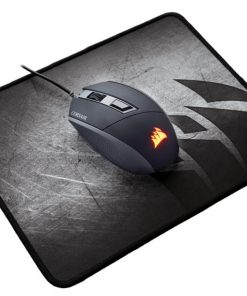 CH-9000105-WW-Corsair MM300 Anti-Fray Cloth Gaming Mouse Mat Small Edition 265mm x 210mm x 3mm