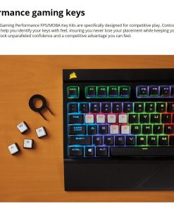 CH-9000233-NA-Corsair Gaming Performance FPS/MOBA Key Kit- White (LS)