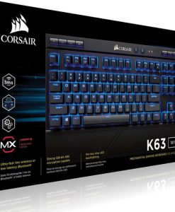 CH-9145030-NA-Corsair Gaming™ K63 Wireless Backlit Blue LED