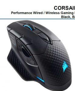 CH-9315111-AP-Corsair DARK CORE RGB SE Gaming Mouse - Black
