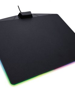 CH-9440020-AP-Corsair MM800 RGB POLARIS RGB Mouse low friction micro-texture surfacet. 15 RGB Zones with CUE software for Ultimate Gaming Setup. 350mm x 260mm x 5mm