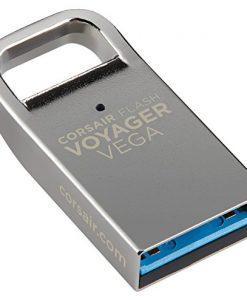 CMFVV3-128GB-Corsair Flash Voyager Vega 128GB USB 3.0 Flash Drive - Zinc Alloy Housing Plug and Play Ultra-Compact Low Profile