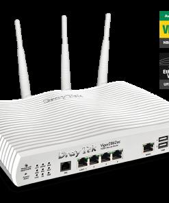 DV2862AC-Draytek Vigor2862AC Multi WAN VDSL2/ADSL2+ Gigabit Firewall Router Wireless AC2000 3G/4G LTE USB 4xGigabit LAN 32xVPN Tunnels 16xVLAN 2y ~MOD-DV2860AC