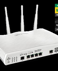 DV2862AC-Draytek Vigor2862AC Multi WAN VDSL2/ADSL2+ Gigabit Firewall Router Wireless AC2000 3G/4G LTE USB 4xGigabit LAN 32xVPN Tunnels 16xVLAN ~MOD-DV2860AC
