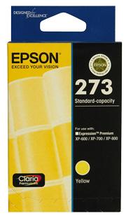 C13T273492-Epson 273 Std Capacity Yellow For XP-600