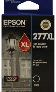 C13T278192-Epson 277XL High Capacity Blk Claria Photo HD