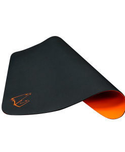AMP300-Gigabyte AORUS AMP300 Hybrid Gaming Mouse Pad Fabric Black Surface Organse Silicon Base Heat Molding Edge Spill-Resistant Washable 324x273x1.8mm