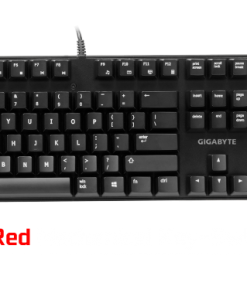 FORCE-K81-RED-Gigabyte FORCE K81 Mechanical Gaming Keyboard Cherry MX Red Switch Anti-ghosting Function & Windows-lock hotkeys Wear Resistant Keycaps