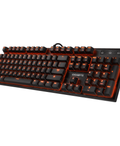 FORCE-K85-RED-Gigabyte FORCE K85 RGB Mechanical Gaming Keyboard Cherry MX Red Switch Anti-ghosting Function 16.7M customizable color lighting Windows-lock hotkey