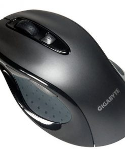 M6800-Gigabyte M6800 Precision Dual Lens USB Optical Gaming Mouse 1600 DPI 3000fps Ergonomic Shape Comfortable Rubber Grips Gaming Grade Feet Pad (LS)