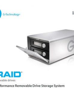 0G03246-G-RAID High Performance Removable 8TB Dual Drive Storage System