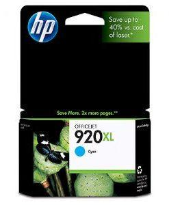 CD972AA-HP 920XL Cyan Ink Cartridge Suits OfficeJet 6500