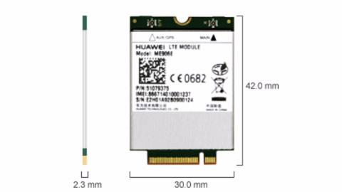 ME906E-Huawei 4G LTE Int Modem MU906E 4G LTE for LeaderTab W150