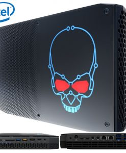 BOXNUC8I7HNK4-Intel BOXNUC8I7HNK4 NUC mini PC i7-8705G 4.1GHz Radeon RX Vega M GL 2xDDR4 SODIMM 2xM.2 PCIe 2xmDP 2xThunderbolt 6xDisplays 2xGbE LAN WiFi BT 13xUSB