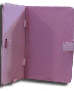 NALT7-CPINK-LeaderTab7 Folio Case Pink Faux Leather. Camera hole rear