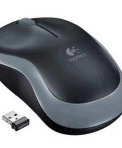 910-002255-Logitech M185 Wireless Mouse Nano Receiver Grey 1-year battery life Logitech Advanced 2.4 GHz wireless connectivity
